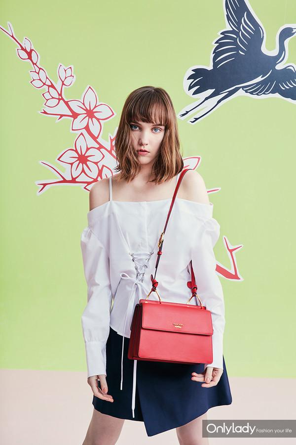TUSCANS2018全新春夏手袋中西魅影系列缱绻中西